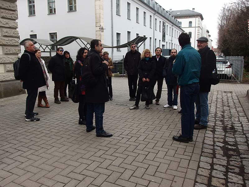Visit to Pestalozzi Primary School in Regensburg