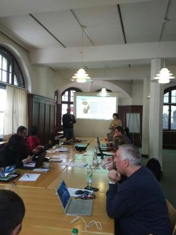 Participants at meeting in Regensburg