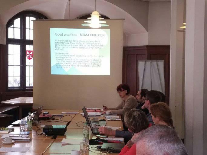 Participants at Regensburg meeting