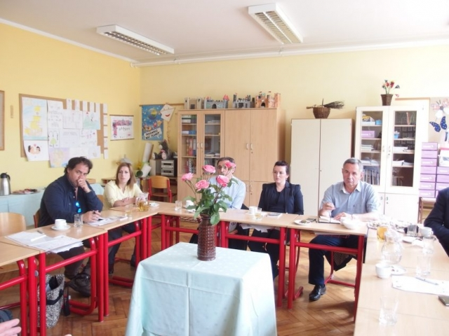 RoMigSc Project - visit of primary school in Maribor