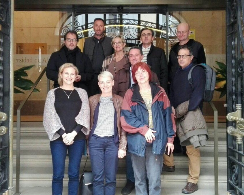 RoMigSc project meeting in Alicante 2017