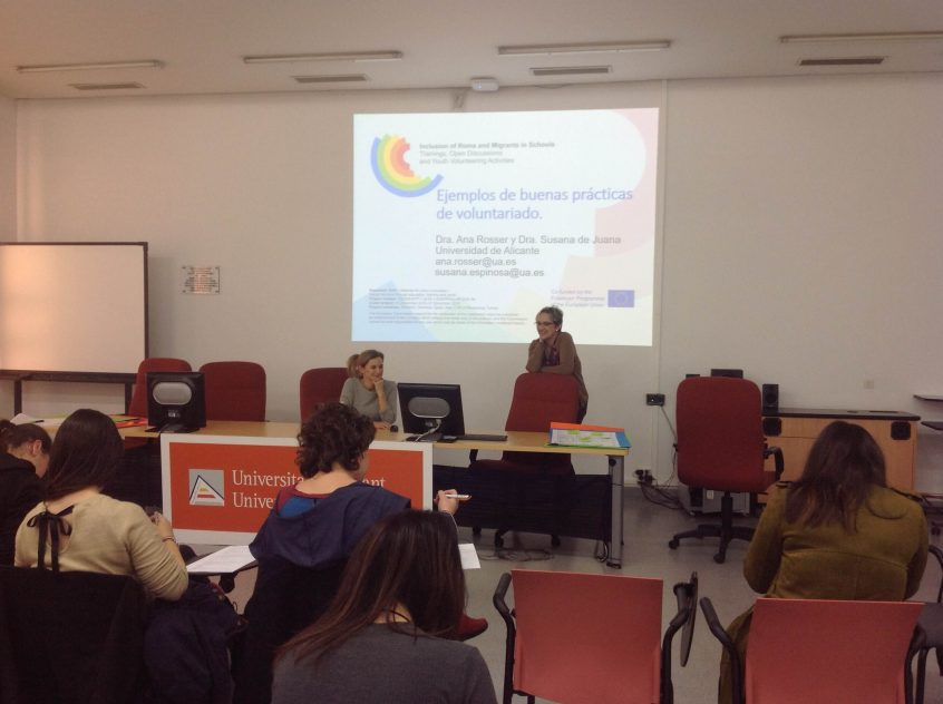 Romigsc seminar for colunteers in Alicante